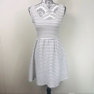 Lauren Conrad striped dress with wrap top